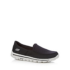 Skechers - Black 'Go Walk 2' shoes