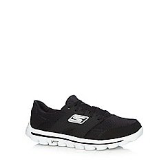 Skechers - Black 'Go Walk 2 Stance' trainers