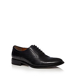 J by Jasper Conran - Designer black leather oxford brogues