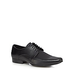 The Collection - Black leather pointed toe shoes