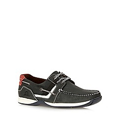 Chatham Marine - Navy leather lace up boat shoes