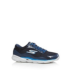 Skechers - Navy 'Sonic 2' run trainers