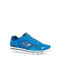 Skechers - Blue 'Go Walk 2 Flash' trainers