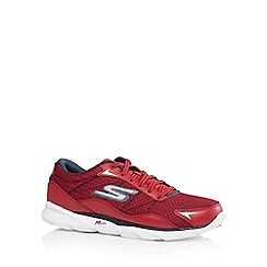 Skechers - Red 'Sonic 2' run trainers