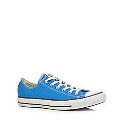 Converse - Blue low top trainers