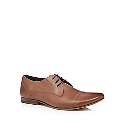 Red Herring - Tan leather toe cap lace up shoes