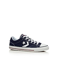 Converse - Navy 'Star Player' canvas trainers
