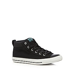 Converse - Black 'All Star' hi-top trainers