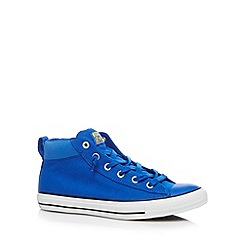 Converse - Blue 'All Star' hi-top trainers