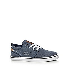 O'Neill - Blue washed canvas plimsolls