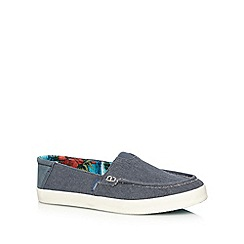 O'Neill - Navy canvas slip ons