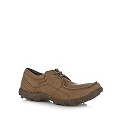 Caterpillar - Tan leather lace up shoes