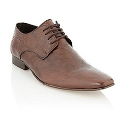 J by Jasper Conran - Designer brown leather pointed toe shoes