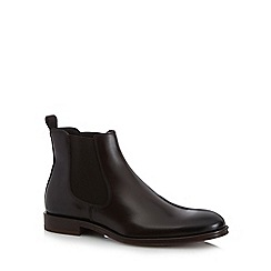 Hammond & Co. by Patrick Grant - Dark brown leather Chelsea boots