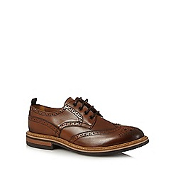 Hammond & Co. by Patrick Grant - Tan leather lace up brogues