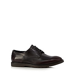 RJR.John Rocha - Dark red leather lace up shoes