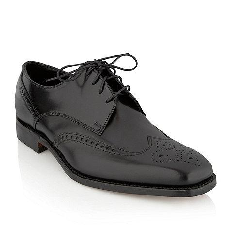 Loake - Black +Bogart+ brogue shoes