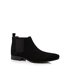Red Herring - Black Chelsea boots