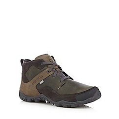 Merrell - Grey leather hiking boots