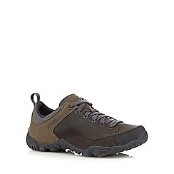 Merrell - Grey leather blend casual shoes