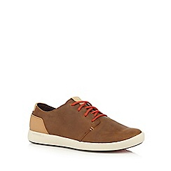 Merrell - Brown leather blend casual shoes