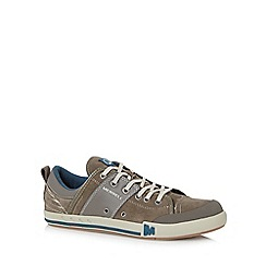 Merrell - Dark grey leather blend 'Rant Dash' trainers