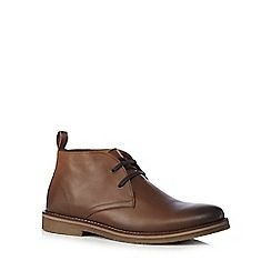 Mantaray - Tan chukka boots