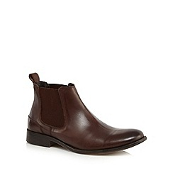 Red Herring - Brown leather Chelsea boots