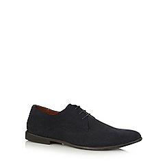 Red Herring - Navy suede Derby shoes