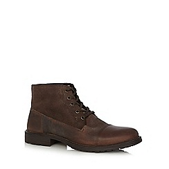 Jack & Jones - Brown ankle boots