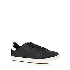 Jack & Jones - Black low top trainers