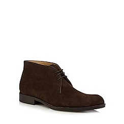Jeff Banks - Dark brown chukka boots