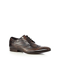 Jeff Banks - Brown lace up brogues