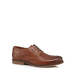 J by Jasper Conran - Tan leather lace up brogues