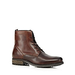 J by Jasper Conran - Brown lace up boots