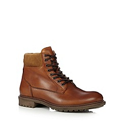 RJR.John Rocha - Tan leather fleece lined boots
