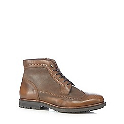 RJR.John Rocha - Brown ankle brogue boots
