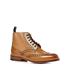 RJR.John Rocha - Tan leather brogue boots