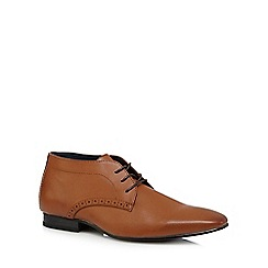 The Collection - Tan chukka shoes
