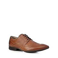 Henley Comfort - Tan leather derby shoes
