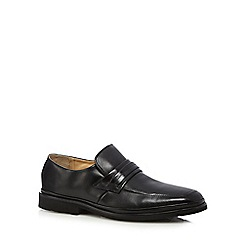 Henley Comfort - Black leather 'Ambrose' loafer shoes