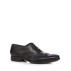 Hush Puppies - Black 'Griffin Maddow' Oxford shoes