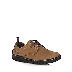 Hush Puppies - Brown leather 'Belfast' lace up shoes