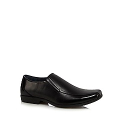 Hush Puppies - Black 'Enzo IIV' slip on shoes