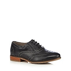 Hush Puppies - Black 'Ellodie Ellis B' leather lace up brogues