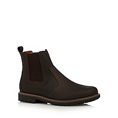 Maine New England - Tan leather Chelsea boots