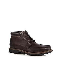 Maine New England - Dark brown apron boots