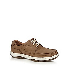 Maine New England - Tan boat shoes