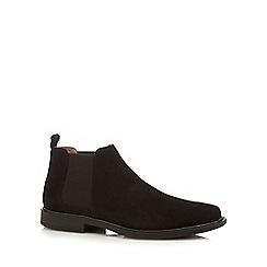 Henley Comfort - Dark brown suede Chelsea boots