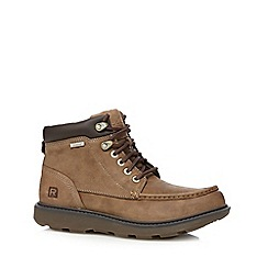 Rockport - Taupe boat boots